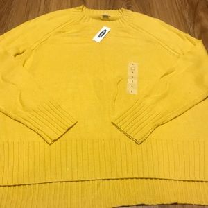Old Navy High Low Sweater NWT Large